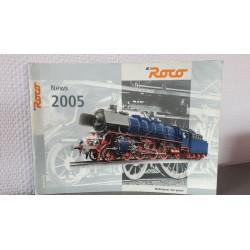 Roco Modelleisenbahn mit Leidenschaft News 2005 Duitstalig 116 Bladzijden