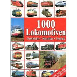1000 Lokomotiven Geschichte - Klassiker - Technik
