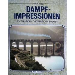 Dampf impressionen Polen - DDR - Österreich - Spanien