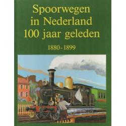 Spoorwegen in Nederland 100 jaar geleden.