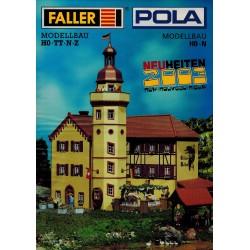 Faller brochure 2003 H0-TT-N-Z Neuheiten