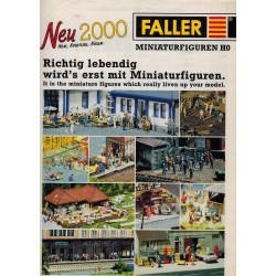 Faller folder 2000 Neu Miniaturfiguren