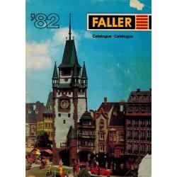 Faller catalogus '82