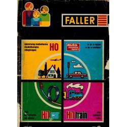 Faller catalogus - flyers - informatie 1971/72