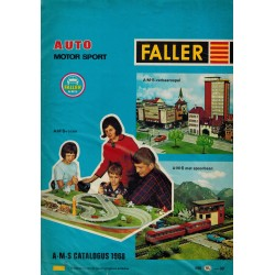 Faller auto motor sport folder - flyers - informatie 1988