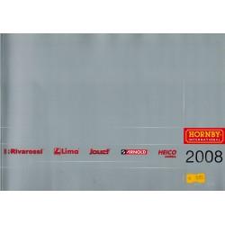 Hornby folders - flyers - informatie - Catalogus Edition 2008