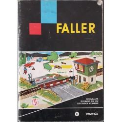 Faller catalogus 1962/63
