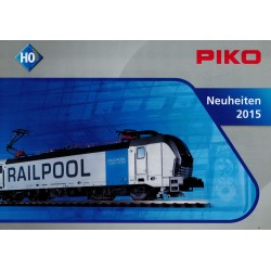 Piko folders - flyers - informatie - Neuheiten 2015-Katalog 2013