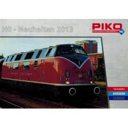 Piko folders - flyers - informatie - H0 Neuheiten 2013 voor H0 en N