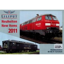 Liliput folders - flyers - informatie - Neuheiten 2011