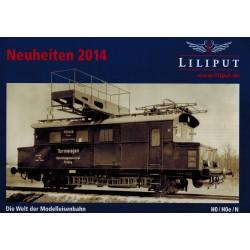 Liliput folders - flyers - informatie - Neuheiten 2014