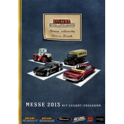 Brekina Brochure - folder Messe 2013