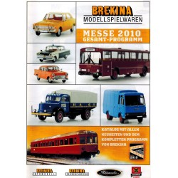 Brekina Brochure - folder Messe 2010