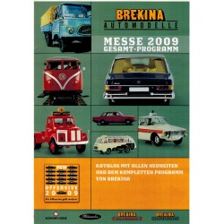 Brekina Brochure - folder Messe 2009