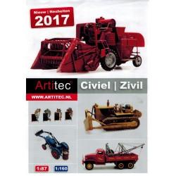 Artitec Brochure - folder Nieuw 2017