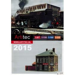 Artitec Catalogus - Brochure - folder 2015