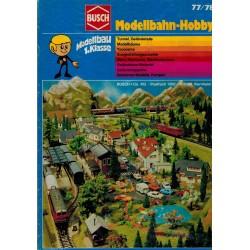 Busch Catalogus - Modellbahn-hobby 77/78