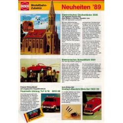 Busch flyer Neuheiten '89