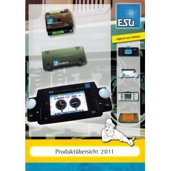 ESU Catalogus Produkt übersicht 2011
