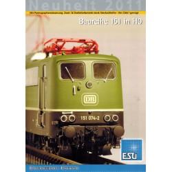 ESU Folder Neuheit 2011 Baureihe 151