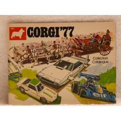 Corgi catalogus 1977 Engelse uitgave.