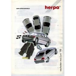 Herpa Flyer Miniturmodelle Neuheiten Mai/Juni '98