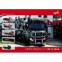 Herpa Folder Cars & Trucks News & Collection 09-10 2012