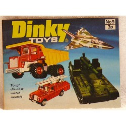 Dinky catalogus 1973-9 Engelse uitgave.