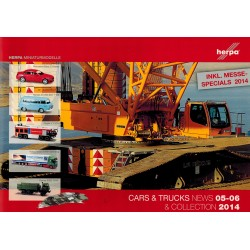 Herpa Brochure Cars & Trucks News & Collection 05-06 2014