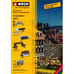 Noch Brochure - folder Neuheiten 2013