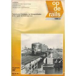 Op de rails 1986 Losse nummers