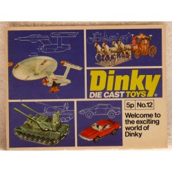 Dinky catalogus 1977-12 Engelse uitgave.