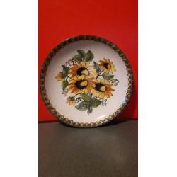 Eder Gmunden Origineel Handgemaakt en handgeschilderd keramisch bord