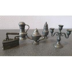 Miniatuur tin - Alle voorzien van keurmerken