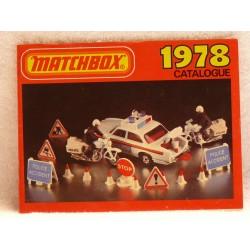Matchbox catalogus 1978 Engelse uitgave.