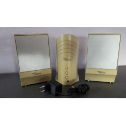 Fujitsu Siemens - 2 Staande geluidsboxen + 1 Centerspeaker