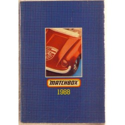 Matchbox catalogus 1988 Engelse uitgave.