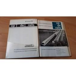 Op de rails 1975 Compleet jaargang