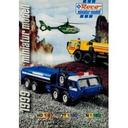 Roco Miniatur Modell 1999 brochure