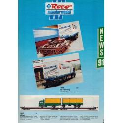 Roco Miniatur Modell News 91 brochure