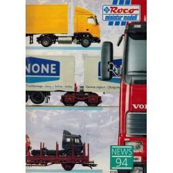 Roco Miniatur modell news 94 brochure