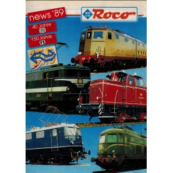 Roco News '89 Catalogus