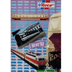 Roco News '93 Catalogus Nederlands - Italiaanse uitgave