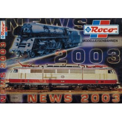 Roco News 2003 Catalogus