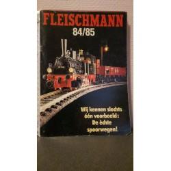 Fleischmann - Catalogus 84/85