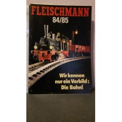 Fleischmann - Katalog 84/85