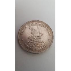 Dollar munt Liberty Trade dollar 1873 Reproductie