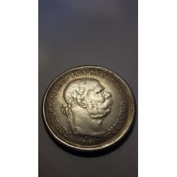 5 Korona 1900 I. Ferenc József Franz Joseph I - 1848/1867 Reproductie