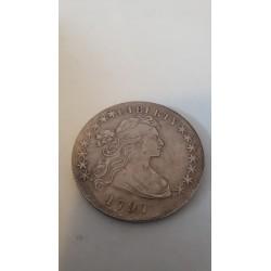 Dollar munt Liberty dollar 1797 Reproductie