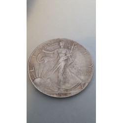 Dollar munt 1 Oz Fine ......... One dollar 1816 Reproductie
